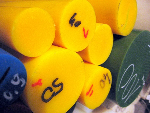 Wałek Poliamidowy Z Olejem – Kolor Zielony, żółty, Czerwony, Niebieski